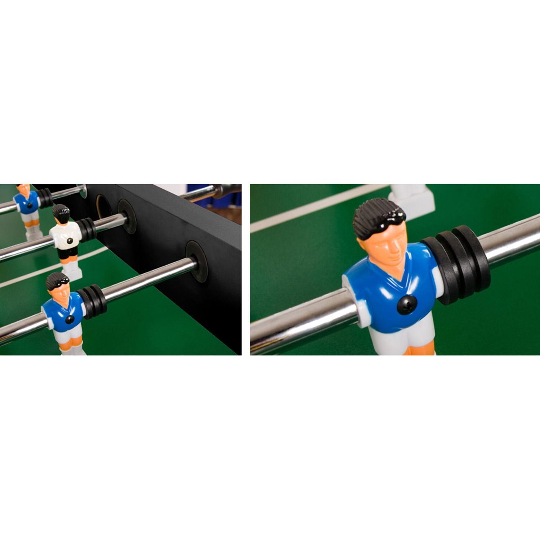 """miniature 3 - Tuniro Baby-Foot \""""Leeds\"""", couleur au choix, L 140 x l 73 x H 87 cm, inclus 4 b"""